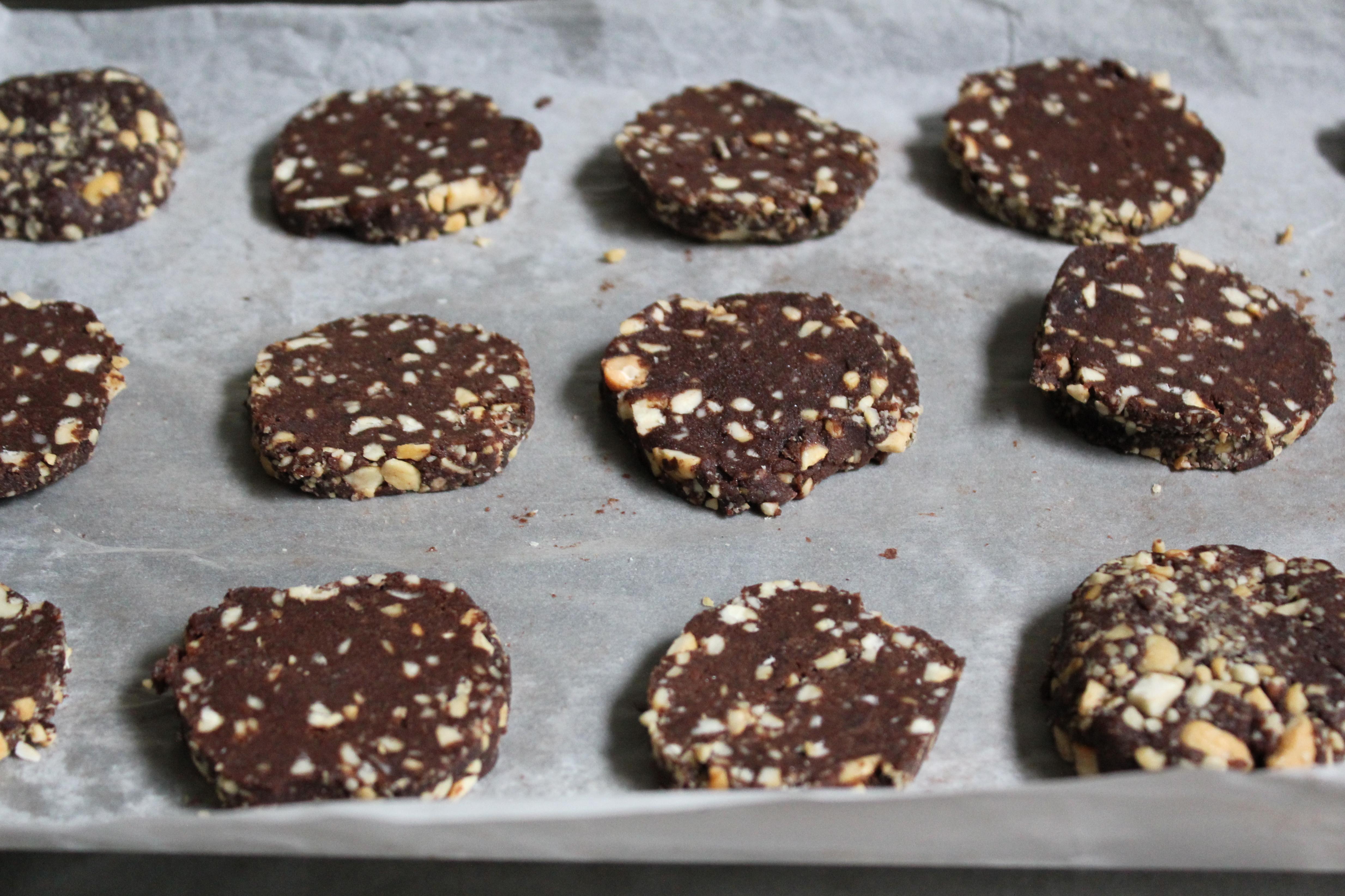 Chocolate Cashew Cookies Sweets And Brains Milo 2 Cokelat 42 Then