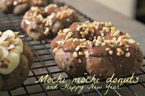 Mochi mochi donuts and Happy NewYear!