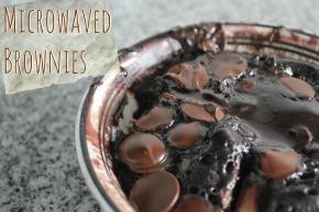 Microwaved Brownies