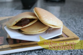 Red Bean and Nutella Dorayaki